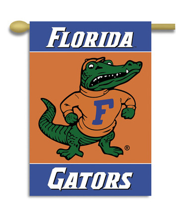 """Florida Gators 2-Sided 28"""" X 40"""" Banner W/ Pole Sleeve picture"""