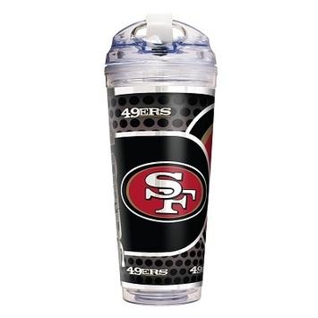 San Francisco 49er's 24 Oz. Acrylic Tumbler w/ Straw picture
