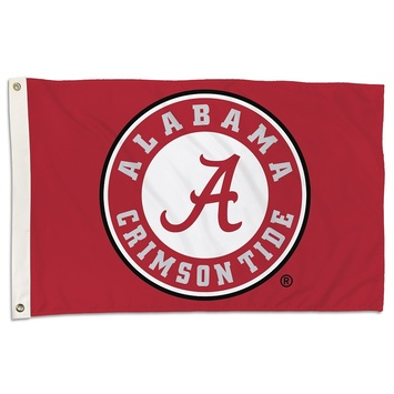 Alabama Crimson Tide 2 Ft. X 3 Ft. Flag W/Grommets picture