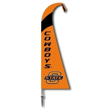 Oklahoma State Cowboys Feather Flag picture