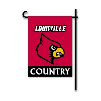 Louisville Cardinals 2-Sided Garden Flag picture