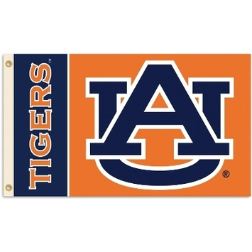 Auburn Tigers 2-Sided 3 Ft. X 5 Ft. Flag W/Grommets picture