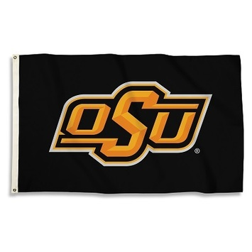 Oklahoma State Cowboys 3 Ft. X 5 Ft. Flag W/Grommets picture