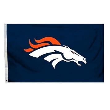 Denver Broncos 4 Ft. X 6 Ft. Flag W/Grommetts picture