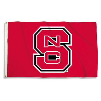 N. Carolina State Wolfpack 3 Ft. X 5 Ft. Flag W/Grommets picture