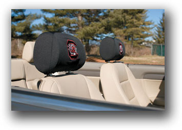 South Carolina Gamecocks Headrest Covers Set Of 2 picture