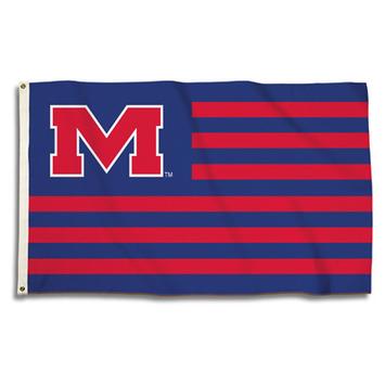 Mississippi Rebels 3 Ft. X 5 Ft. Flag W/Grommets picture