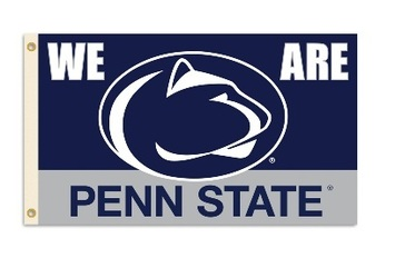 Penn State Nittany Lions 3 Ft. X 5 Ft. Flag W/Grommets picture