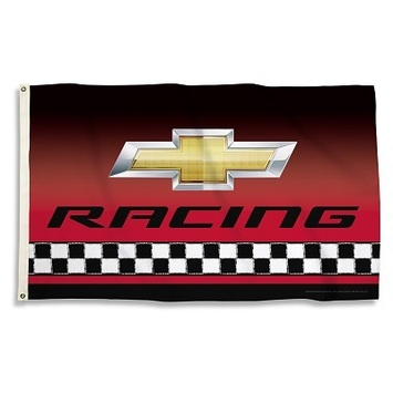 CHEVY RACING 3 Ft. X 5 Ft. Flag W/Grommets picture