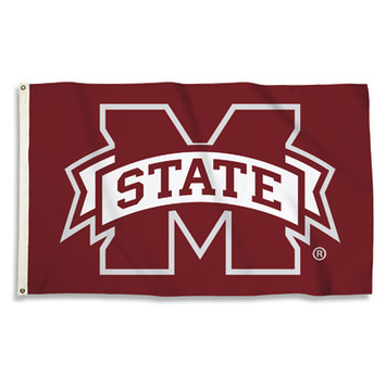 Mississippi State Bulldogs 3 Ft. X 5 Ft. Flag W/Grommets picture