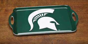 Michigan State Spartans Melamine Serving Tray picture