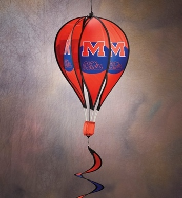 Mississippi Rebels Hot Air Balloon Spinner picture