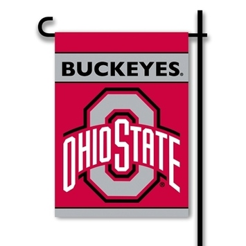 Ohio State Buckeyes 2-Sided Garden Flag picture