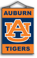 Auburn Tigers Indoor Banner Scroll