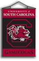 South Carolina Gamecocks Indoor Banner Scroll