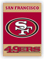 San Francisco 49Ers 2-Sided 28 X 40 House Banner