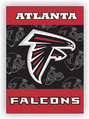 Atlanta Falcons 2-Sided 28 X 40 House Banner