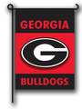 Georgia Bulldogs 2-Sided Garden Flag