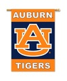 """Auburn Tigers 2-Sided 28"""" X 40"""" Banner W/ Pole Sleeve"""