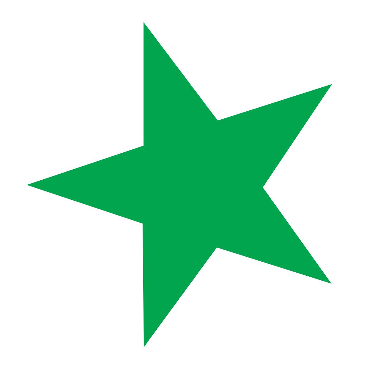 Westcott westcott green stars colour stars
