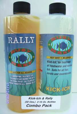 Kick-Ick 16 oz. and Rally 16 oz. -  SMALL COMBO PACK picture