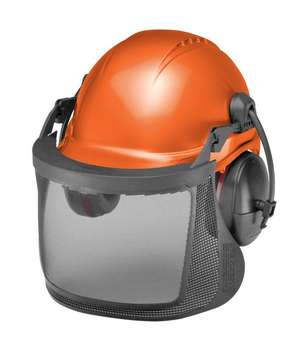 CU-25V ProGuard System Vented with 6 Pt. Pin Lock Tectra Safety Cap, Ear Muffs, Steel Mesh picture