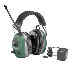 QuieTunes AM/FM Electronic Rechargeable Ear Muff with 22 NRR picture