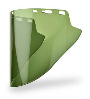 FS-18LG Green Molded Lexan Face Shield picture