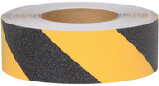 #3360 Safety Track® Non-Slip Grit Roll 2in x 60ft Black/Yellow 6/case