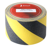 #3360 Safety Track® Non-Slip Grit Roll 4in x 60ft Black/Yellow