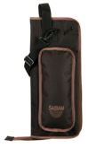 Arena Stick Bag (Black with Brown)
