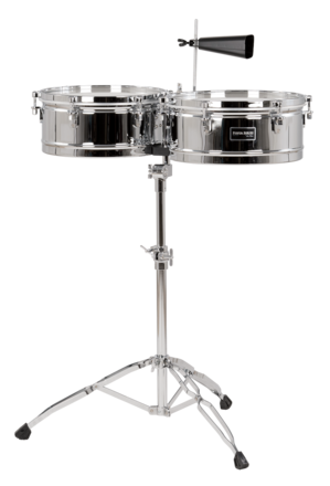 "Fiesta Series 14""/15"" Timbale Set Chrome picture"