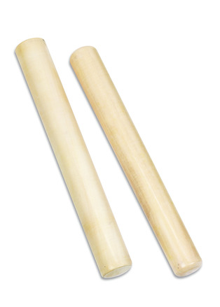 White Wood Claves picture