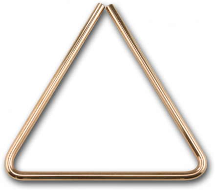 "9"" B8 Bronze Triangle picture"