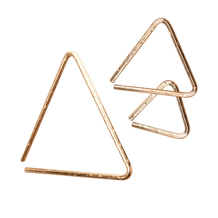 """6"""" Hammered B8 Triangle picture"""