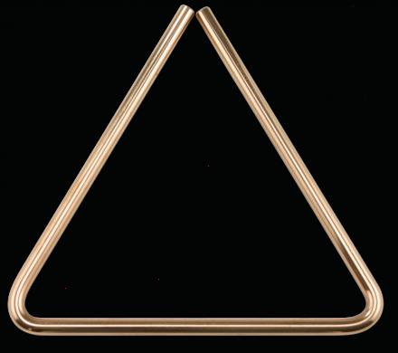 """8"""" B8 Bronze Triangle picture"""