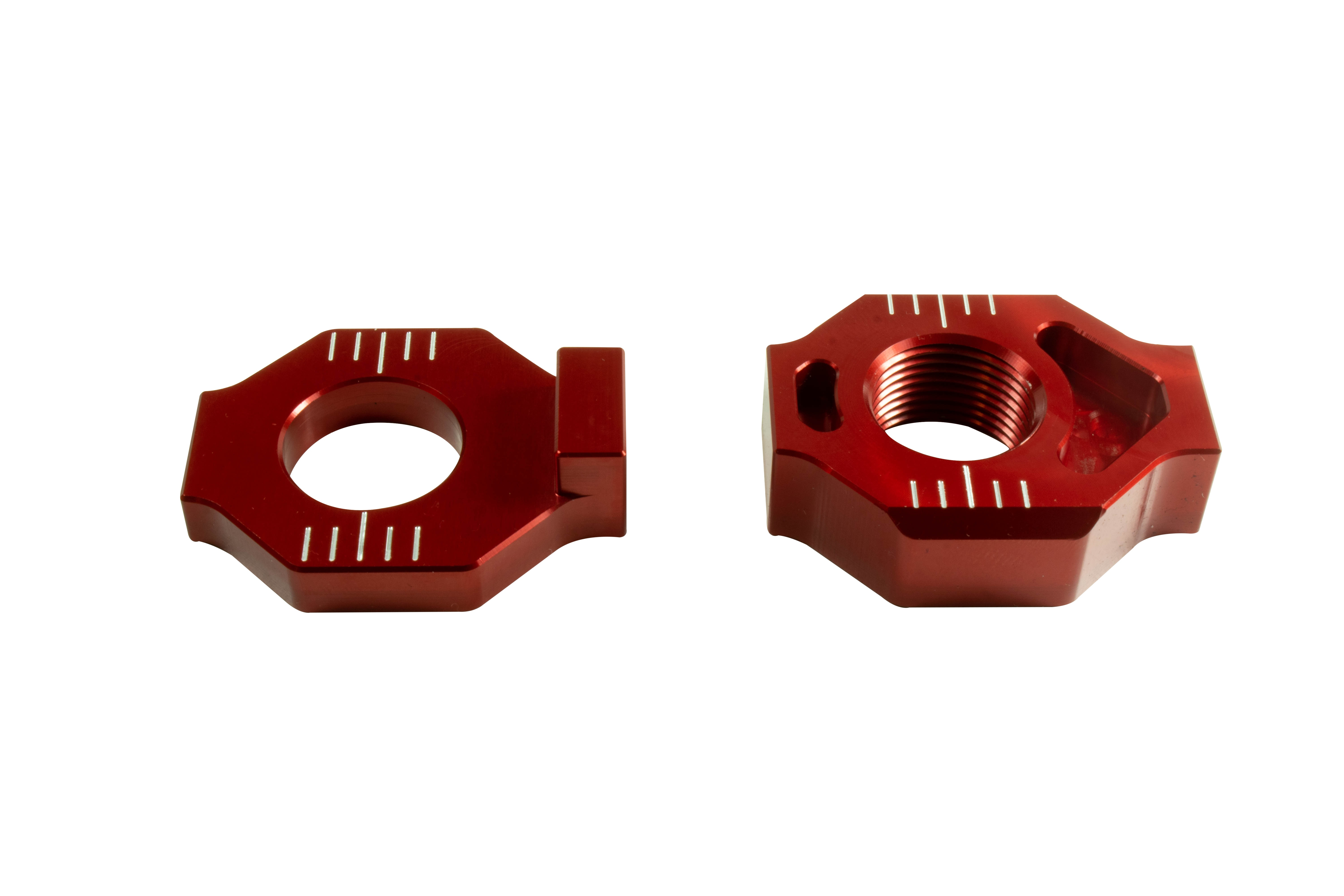 Billet Chain Blocks, Red picture