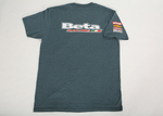 Beta Racing Sport Tee, Navy