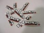 Beta Racing Sticker pack of 20