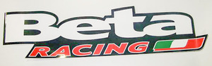 Beta Racing Large Sticker picture