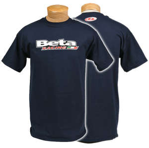 Beta Racing Tee, Navy picture