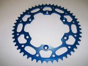Aluminum Rear Sprocket, Blue picture