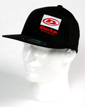 Beta Flat-Bill hat, black picture