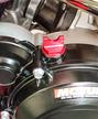 '18 Billet Oil Filler cap, 2-T Red additional picture 3
