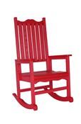 Porch Rocker : Red