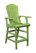 Pub Chair - Kiwi Green