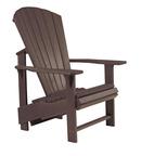 Upright Chair : Chocolate