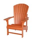 Upright Chair : Orange