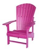 Upright Chair : Fuschia