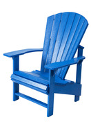 Upright Chair : Blue
